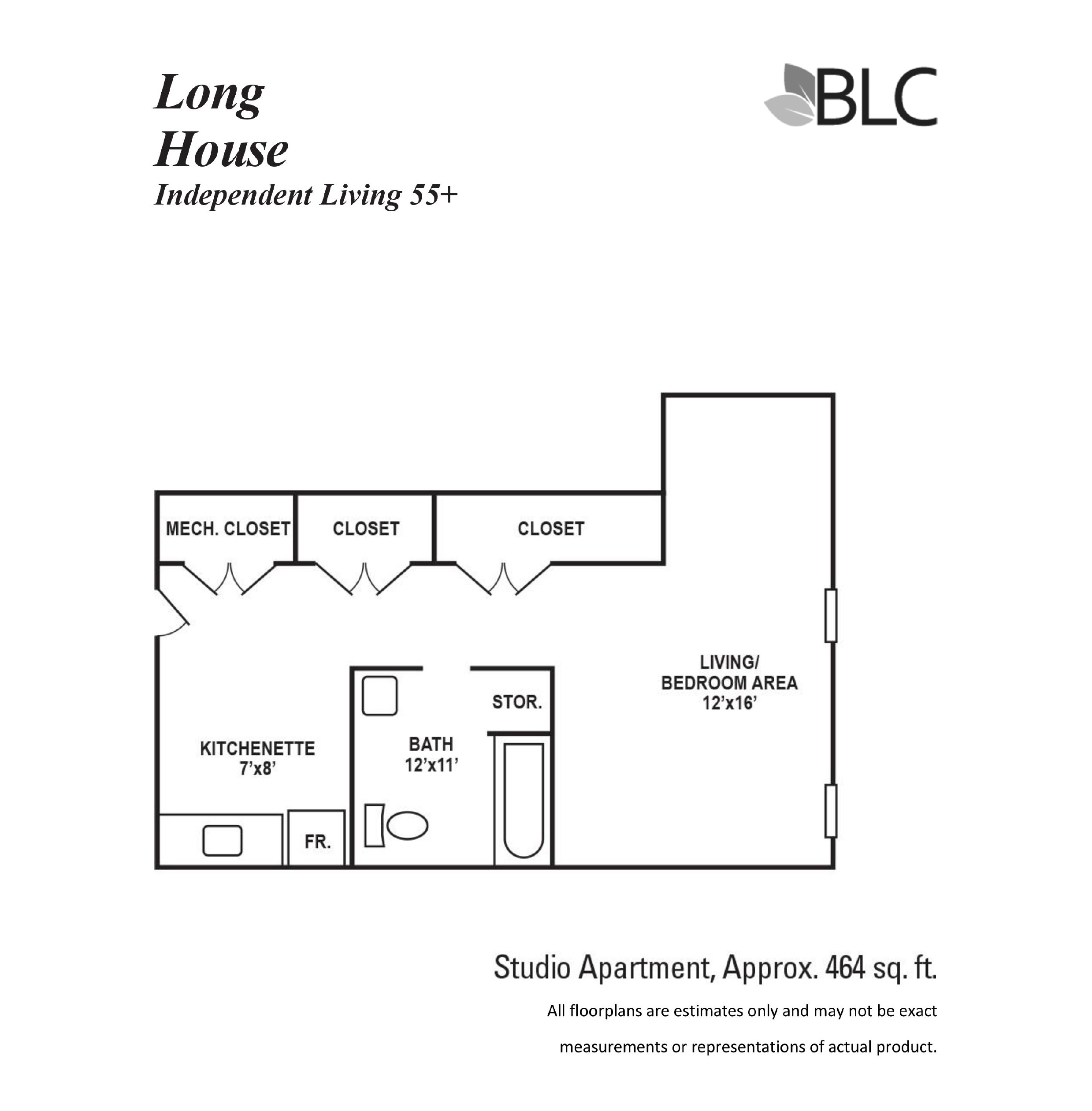 Long House Studio Apartment